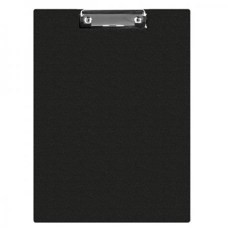 Clipboard dublu PVC negru, Q-CONNECT