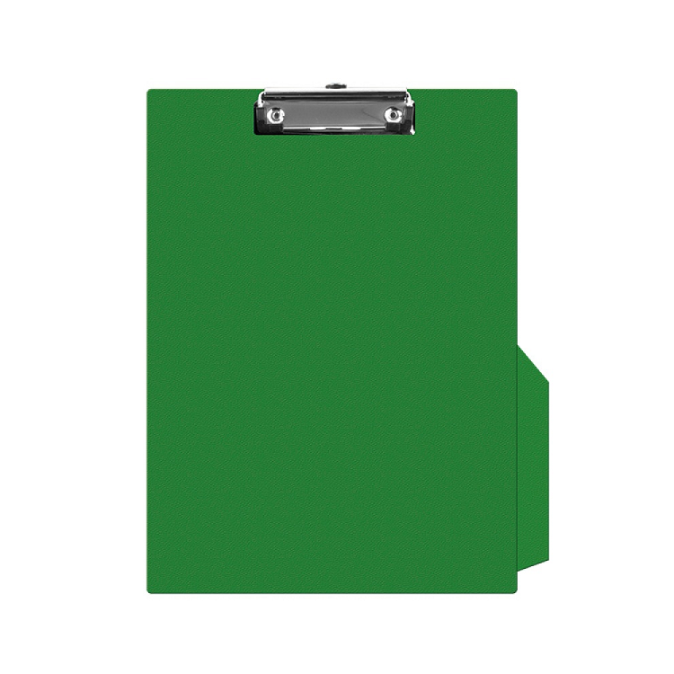 Clipboard simplu PVC verde, Q-CONNECT