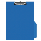 Clipboard simplu PVC albastru, Q-CONNECT