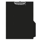 Clipboard simplu PVC negru, DONAU
