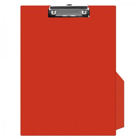 Clipboard simplu PVC rosu, Q-CONNECT