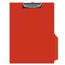 Clipboard simplu PVC rosu, DONAU