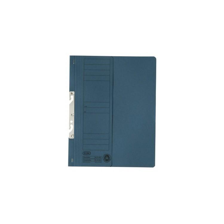Dosar carton de incopciat 1/2 albastru, ELBA