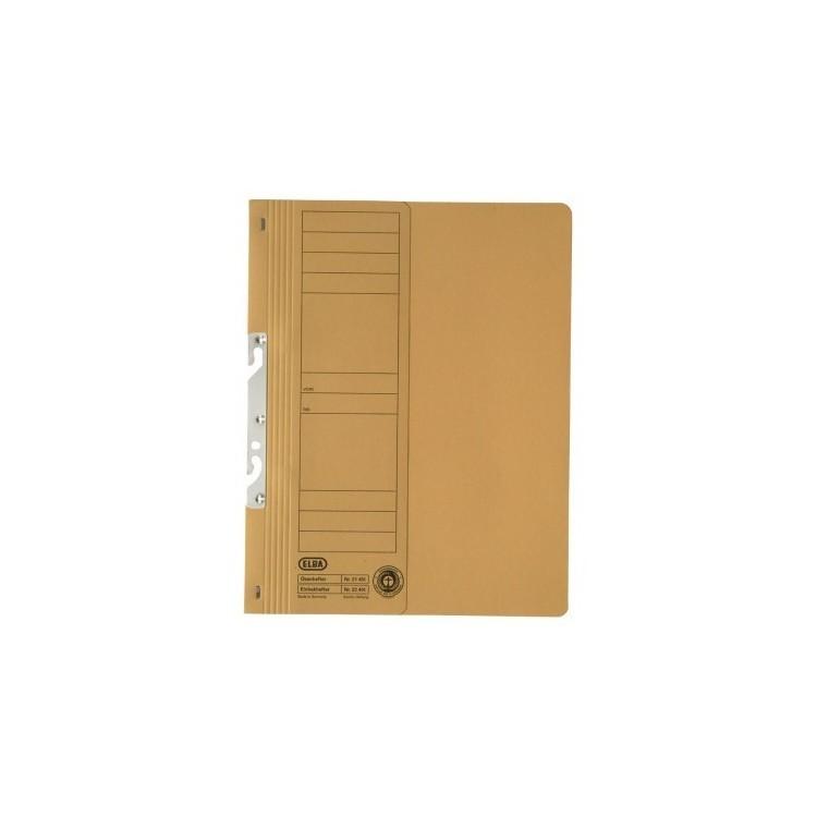 Dosar carton de incopciat 1/2 galben, ELBA