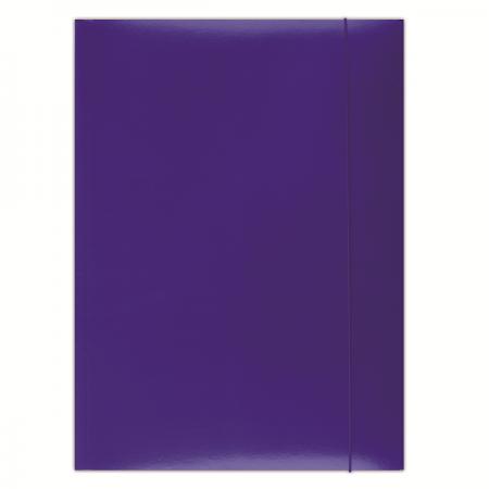 Mapa carton cu elastic 300g/mp albastra, DONAU