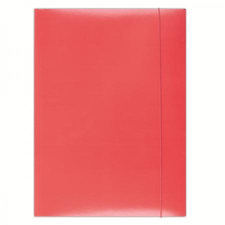 Mapa carton cu elastic 300g/mp rosie, DONAU