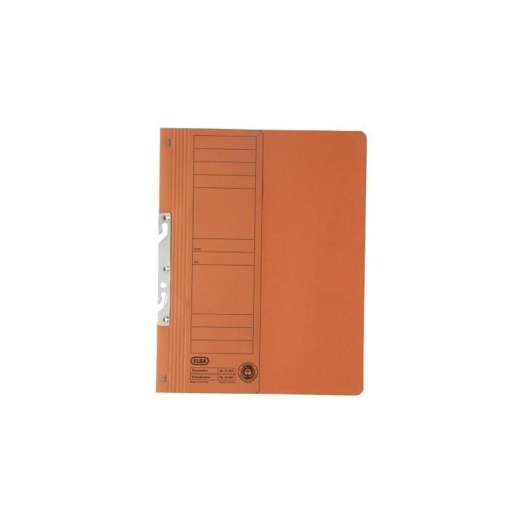 Dosar carton de incopciat 1/2 portocaliu, ELBA