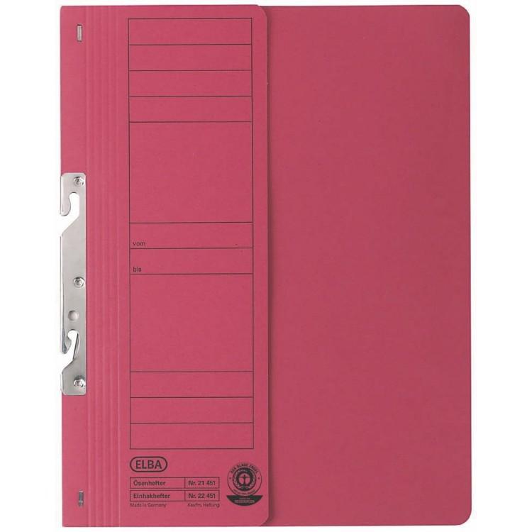 Dosar carton de incopciat 1/2 rosu, ELBA