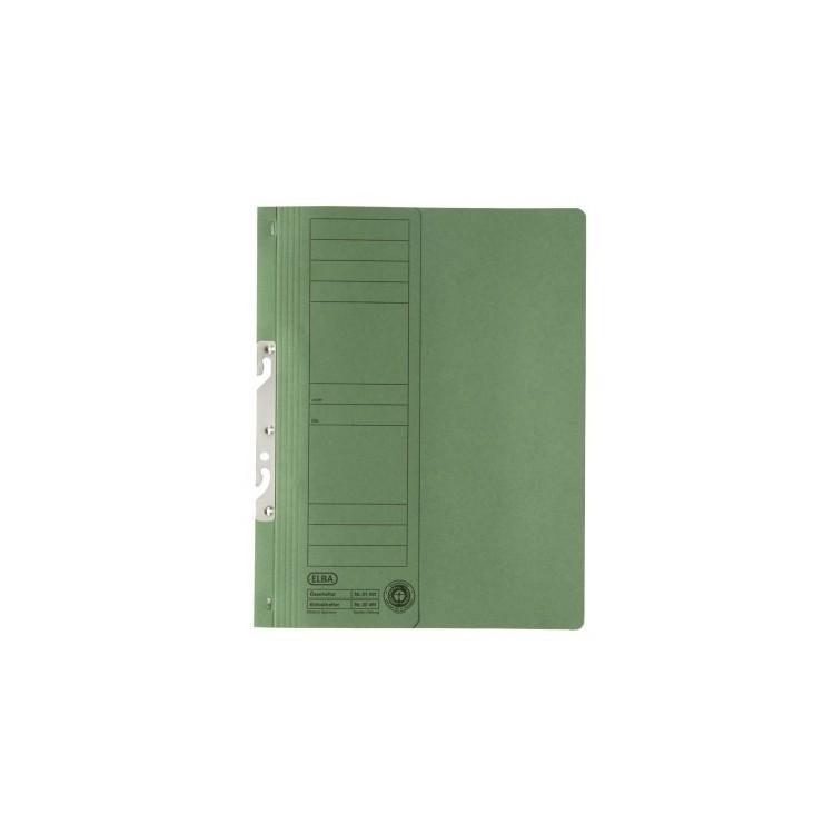 Dosar carton de incopciat 1/2 verde, ELBA