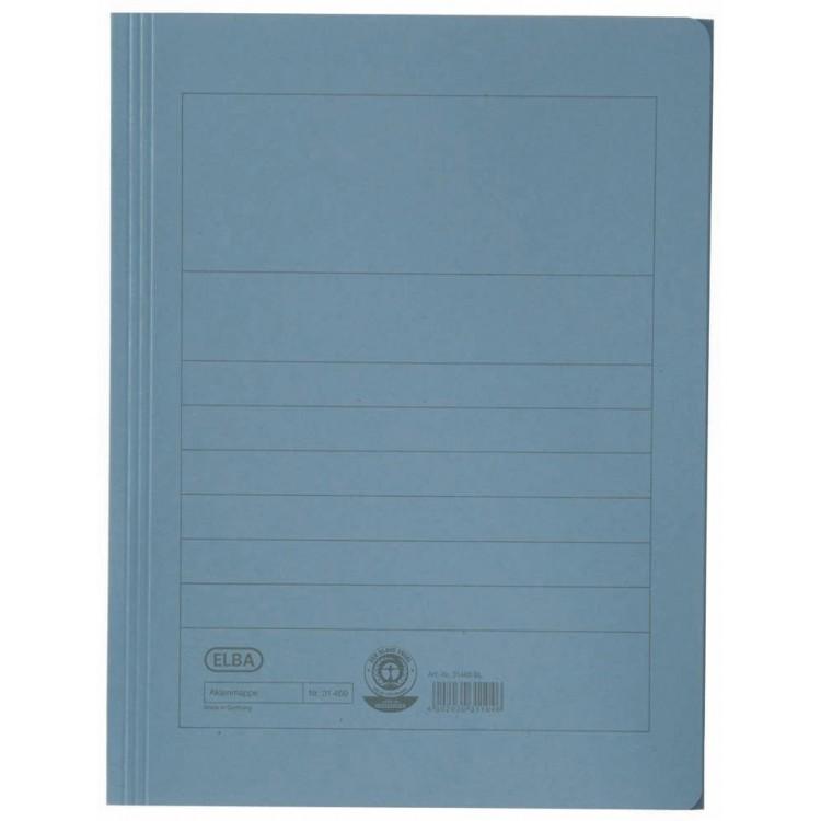 Dosar carton plic albastru, ELBA