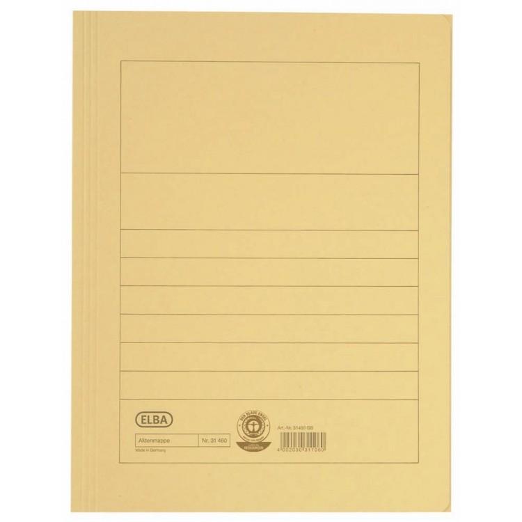Dosar carton plic galben, ELBA