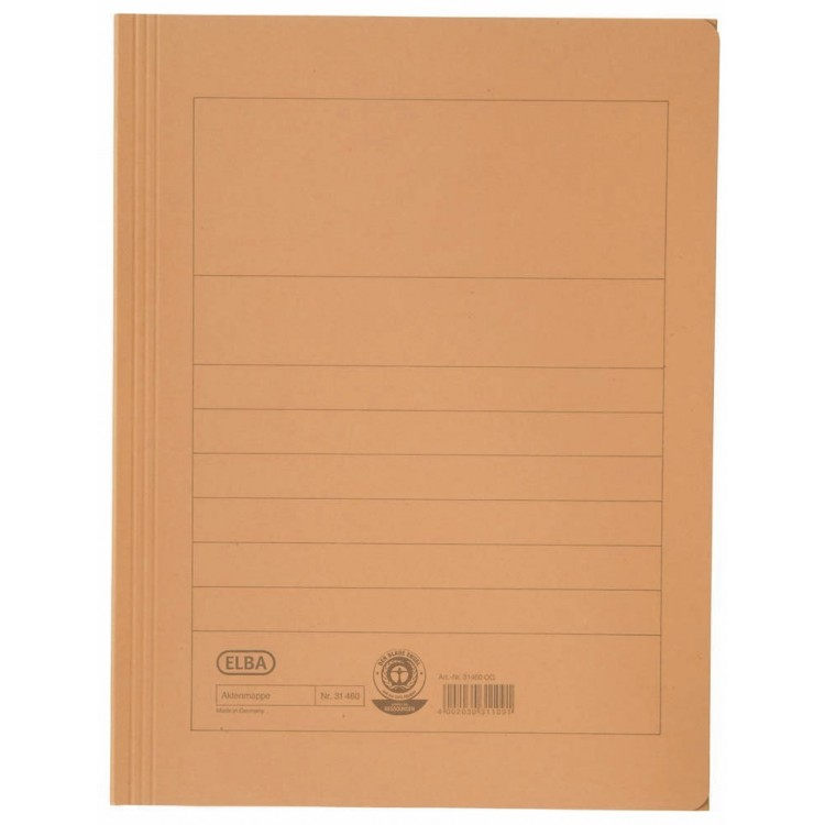 Dosar carton plic portocaliu, ELBA