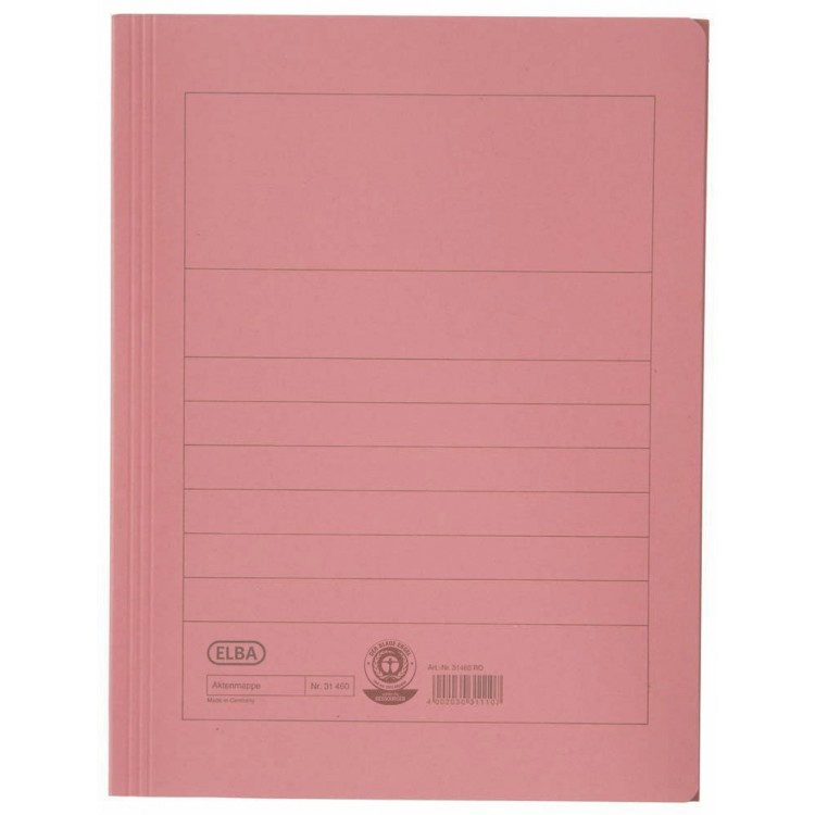 Dosar carton plic rosu, ELBA