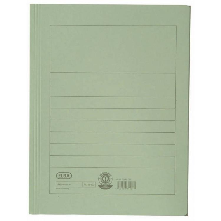 Dosar carton plic verde, ELBA