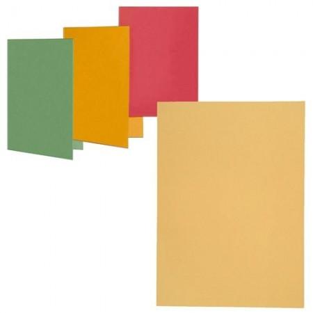 Dosar carton simplu galben, ELBA
