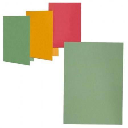 Dosar carton simplu verde, ELBA