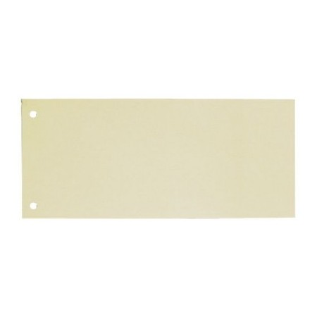 Separator carton 105x240mm galben 190g/mp 100 buc/set, ELBA