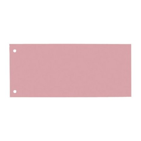 Separator carton 105x240mm rosu 190g/mp 100 buc/set, ELBA
