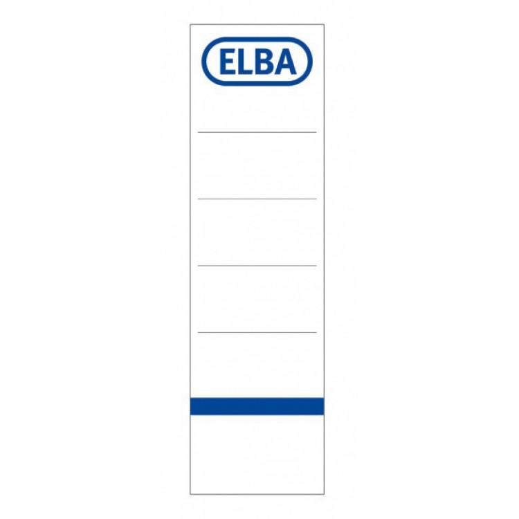 Eticheta biblioraft 8cm 10 buc/set, ELBA