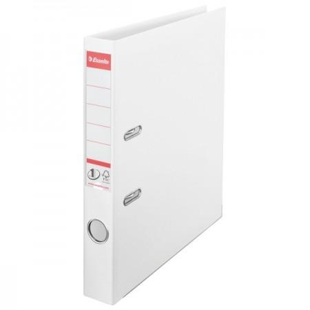 Biblioraft dublu plastifiat 5cm alb, ESSELTE Standard Vivida