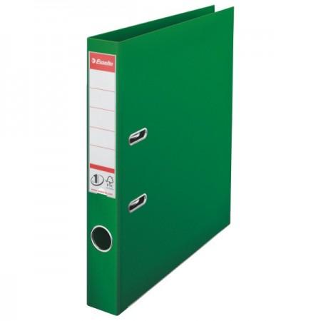 Biblioraft dublu plastifiat 5cm verde, ESSELTE Standard