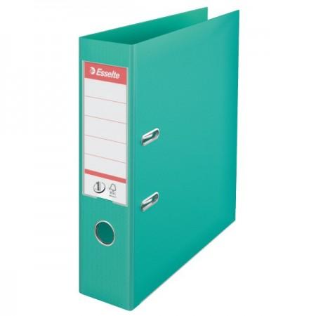 Biblioraft dublu plastifiat 7.5cm verde menta, ESSELTE Standard