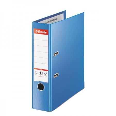 Biblioraft dublu plastifiat 8cm albastru, ESSELTE Jumbo Plus Vivida