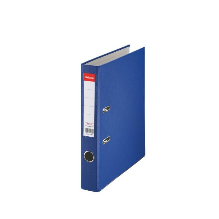Biblioraft plastifiat 5cm albastru, ESSELTE Economy