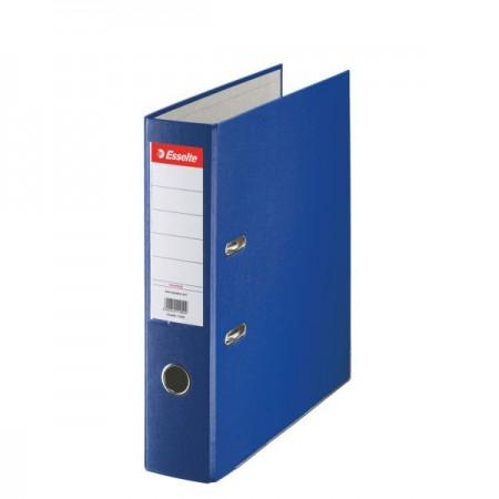 Biblioraft plastifiat 7.5cm albastru, ESSELTE Economy