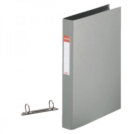 Caiet mecanic 2 inele 35mm PVC gri, ESSELTE Standard
