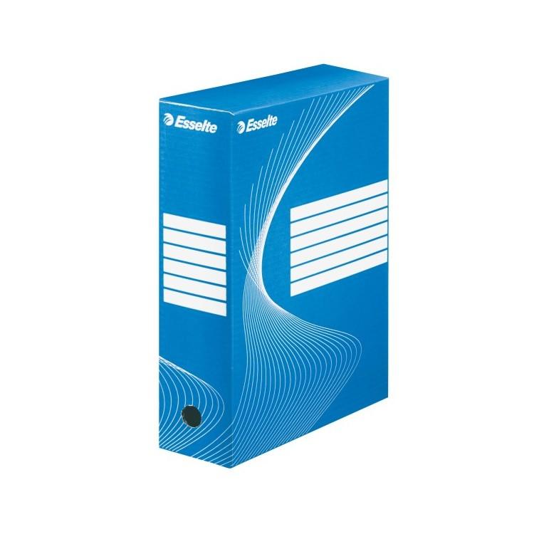 Cutie arhivare 10cm albastra, ESSELTE Boxy