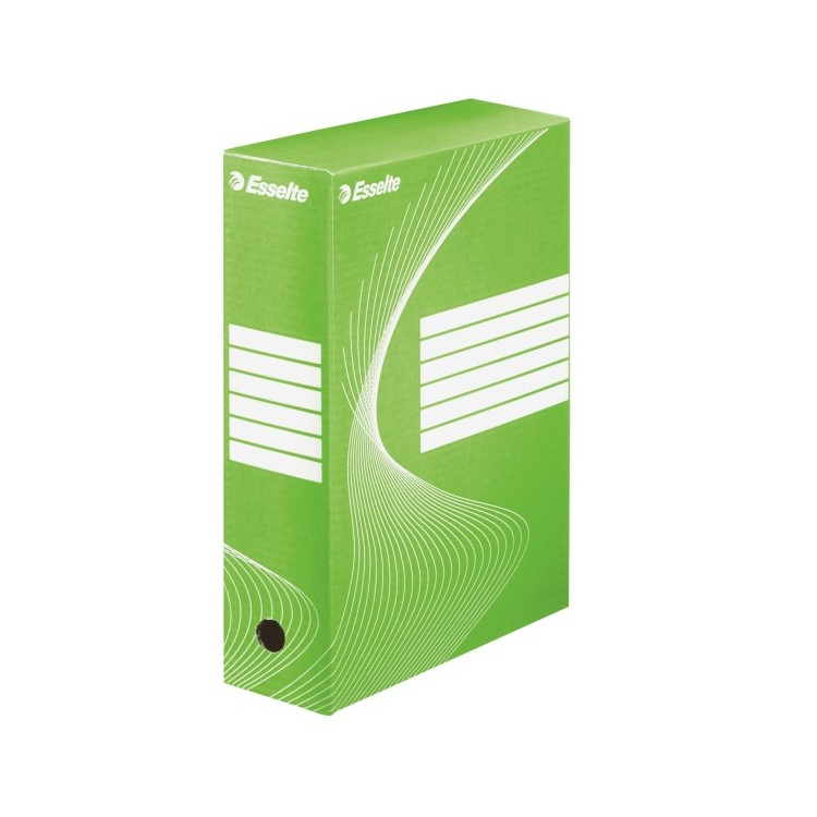 Cutie arhivare 10cm verde, ESSELTE Boxy