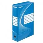 Cutie arhivare 8cm albastra, ESSELTE Boxy