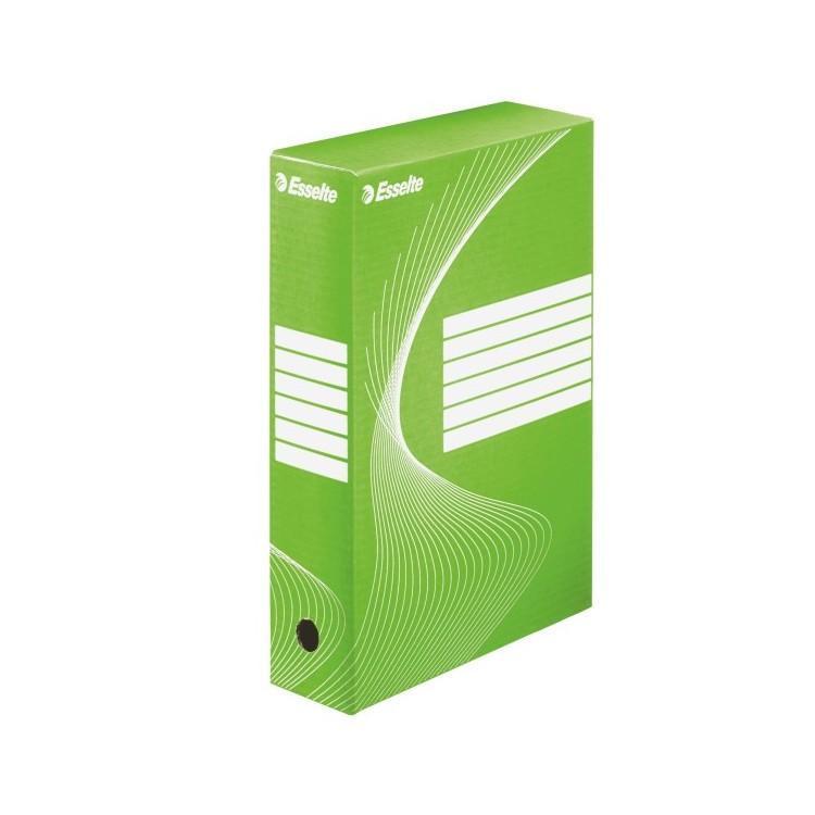Cutie arhivare 8cm verde, ESSELTE Boxy