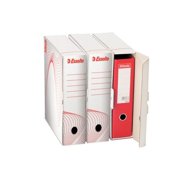 Cutie arhivare biblioraft 345x90x295mm alba, ESSELTE Boxy