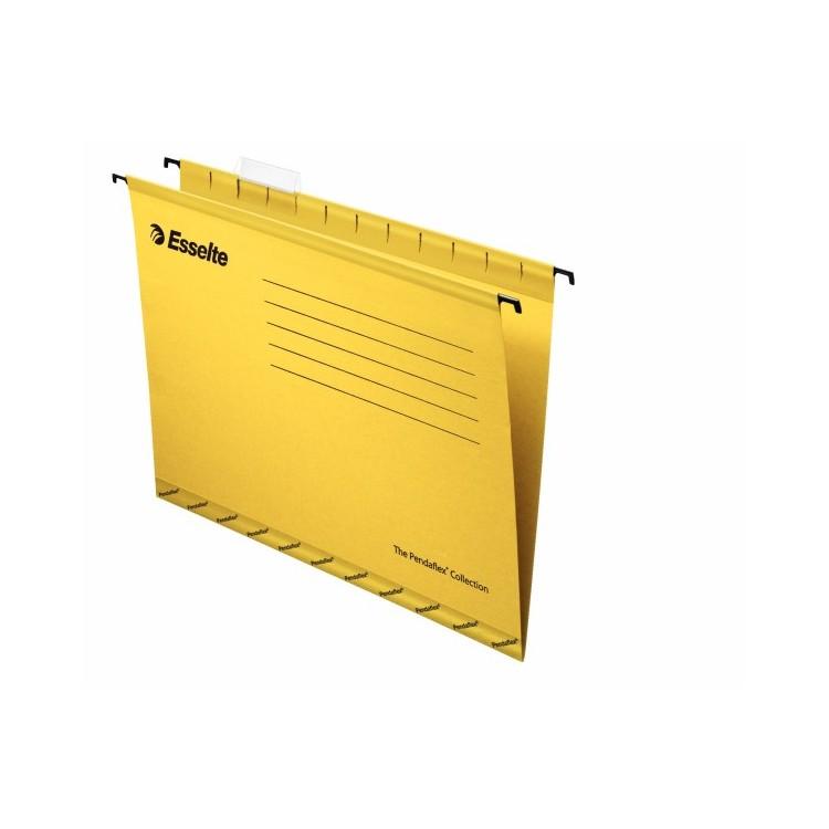 Dosar suspendabil galben, ESSELTE Standard Pendaflex