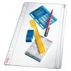 Folie protectie documente A4 cu fermoar 200mic cristal 5 buc/set, ESSELTE