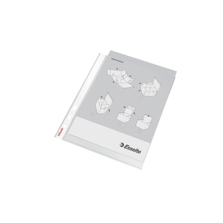 Folie protectie documente A5 65mic 100 buc/set, ESSELTE