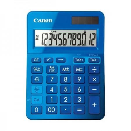 Calculator de birou 12 Digits albastru, CANON LS-123KBL