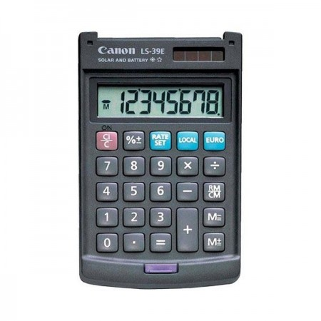 Calculator de birou portabil 8 Digits, CANON LS-39E