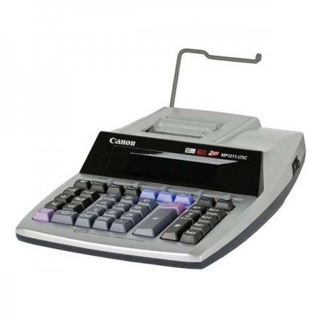 Calculator de birou cu rola 12 Digits, CANON MP1211-LTSC