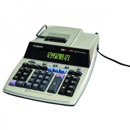 Calculator de birou cu rola 14 Digits, CANON MP1411-LTSC