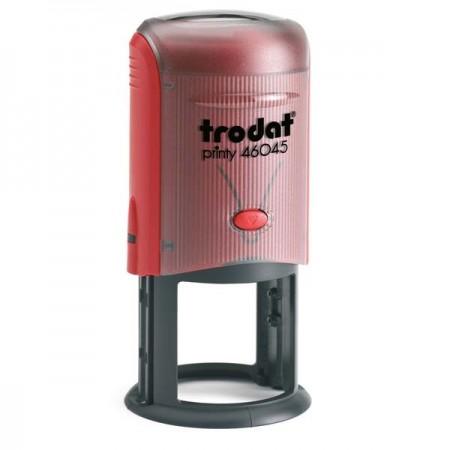 Stampila cu tusiera bicolora, TRODAT 46045