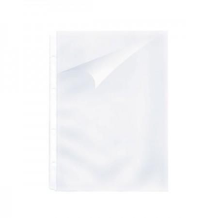 Folie protectie A4 cu dubla deschidere 140mic cristal, KANGARO