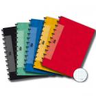 Caiet A4 72 file matematica 90g/mp coperti carton embosat, AURORA Adoc