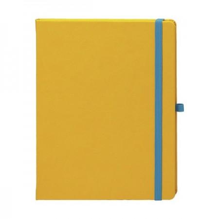 Agenda nedatata 16.5x21cm coperta CV502 galben, EGO Notebook Pro