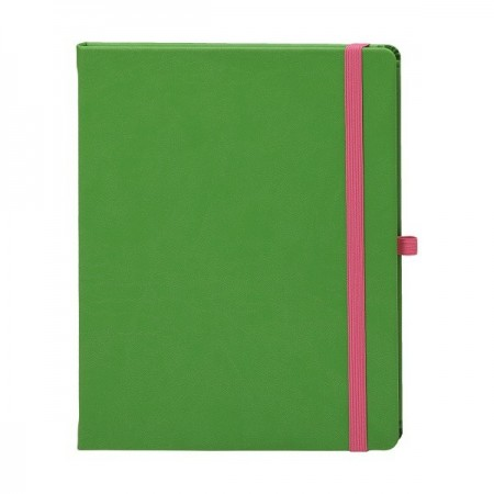 Agenda nedatata 16.5x21cm coperta CV1202 vernil, EGO Notebook Pro