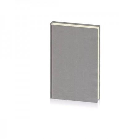 Agenda nedatata 14x20.5cm coperta BC6 gri, EGO Domino