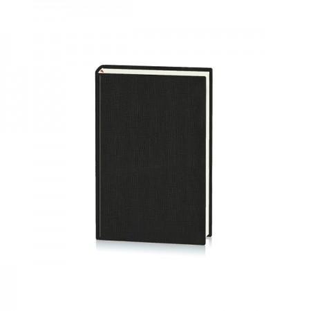 Agenda datata 14x20.5cm coperta PL10 negru, EGO Basic