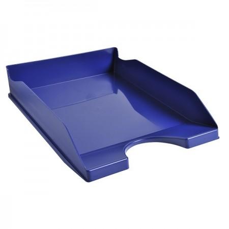 Tavita documente plastic albastra, EXACOMPTA Eco